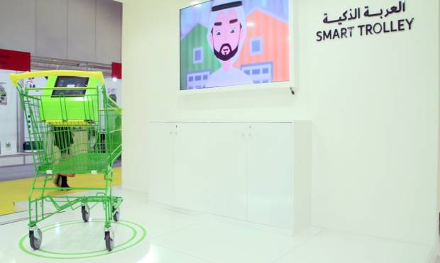 Dubai market to get smart trolleys