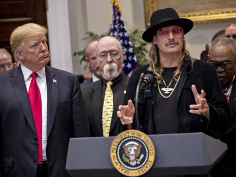 Kid Rock heads to White House as Trump signs royalty bill