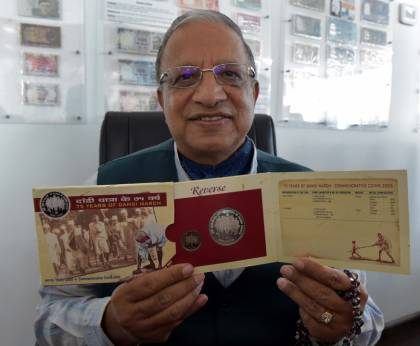 Rare Gandhi currency collection on display in Dubai