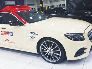 Video: Inside Dubai's self-driving taxi