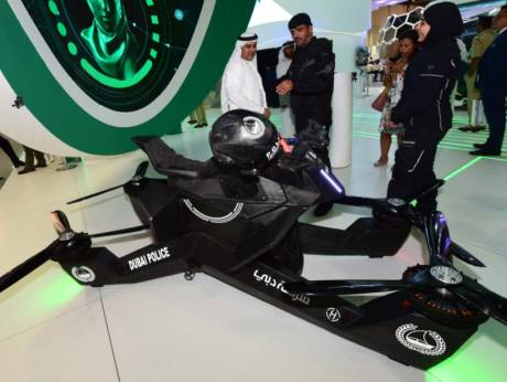 Hoverbike to fight crime in Dubai