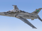 A Saudi Royal Air Force Hawk trainer jet. An investigation was opened into the cause of the crash of the British-manufactured Hawk. For illustrative purposes only.