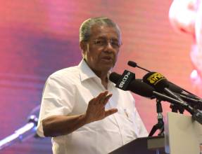 Pictures: Kerala Chief Minister in UAE