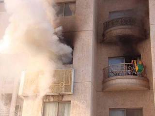 Three die of suffocation in Ajman fire