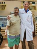 Knee replacements get patient back on his feet