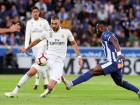 Real Madrid's Karim Benzema in action against Deportivo Alaves. It was Alaves' first league win at home to Real Madrid since 1931. Madrid have lost three of their four matches in La Liga and have gone 360 minutes without scoring a goal.