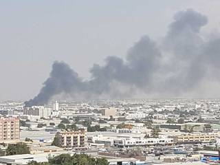 Fire guts 12 warehouses in Sharjah
