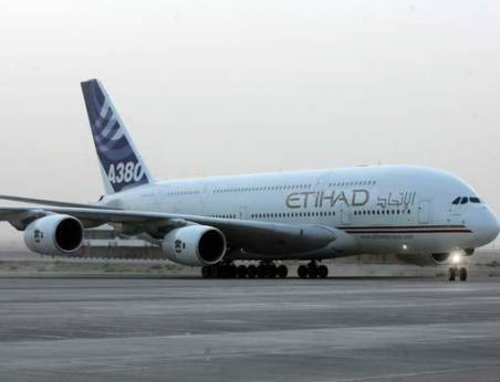 Etihad Airways unveils hotel-style rooms on A380