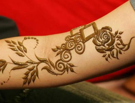 Henna Tattoo Qatar : Getting into henna gulfnews