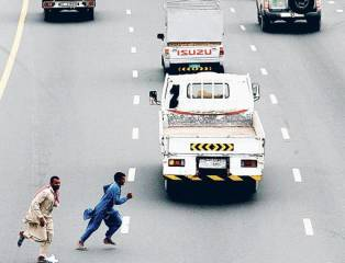 390 jaywalkers fined in Sharjah