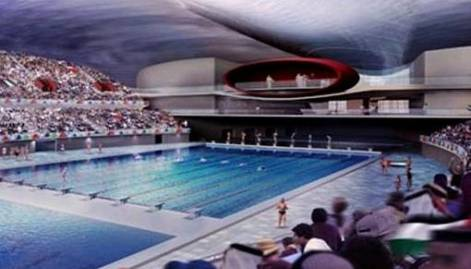 The Dubai Aquatic Centre