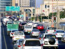 Accidents, traffic jams choke Dubai roads