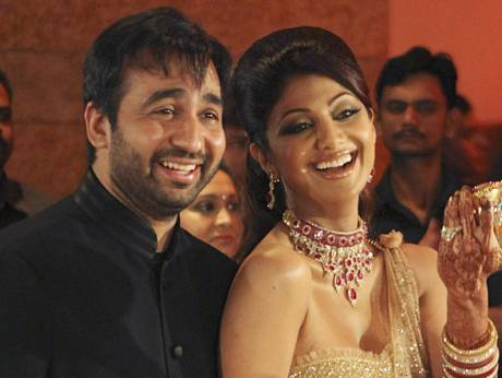 Bollywood Stars Turn Out For Shilpa Shettys Wedding Reception