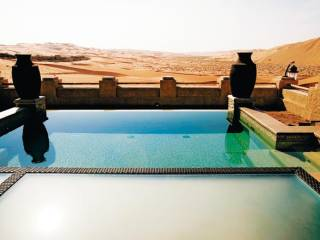 Take a tour around Liwa's Qasr Al Sarab