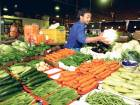 The fruit and vegetable market in the UAE.