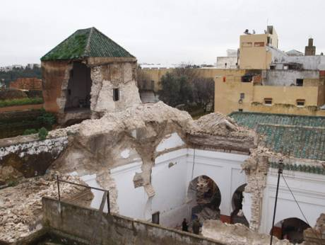 Mosque collapse