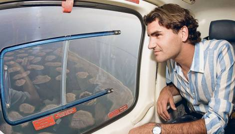 Roger Federer's love affair with the UAE