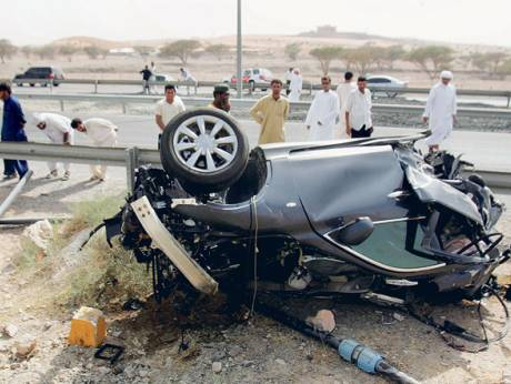 Accident in Ras Al Khaimah
