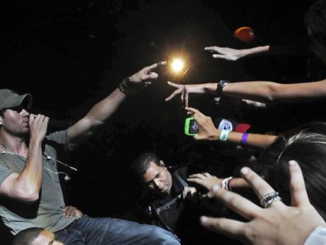 Enrique Iglesias in Santo Domingo