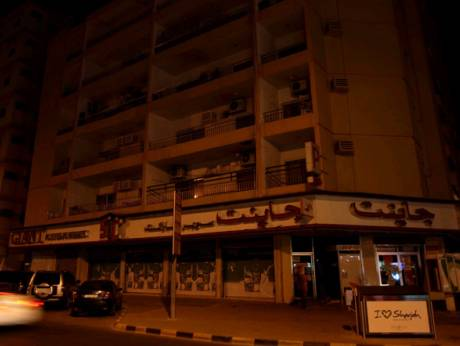 A power outage hits Sharjah's Industrial Area 3