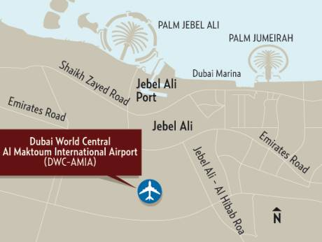 Dubai World Central-Al Maktoum International airport