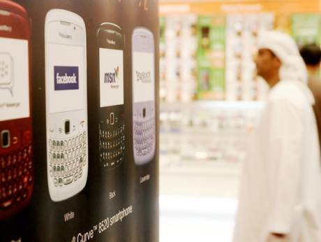 BlackBerry has been in use in the UAE since 2007
