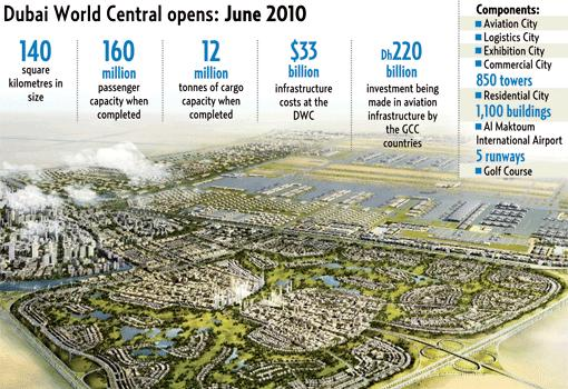 Dubai world central set to open in 2010 gulfnews 17bsdubaiworld5f dubai dubai world central gumiabroncs Image collections