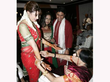 Tharoor Pushkar wedding