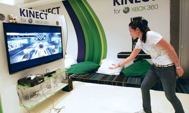 Sneak preview of the Xbox 360 Kinect
