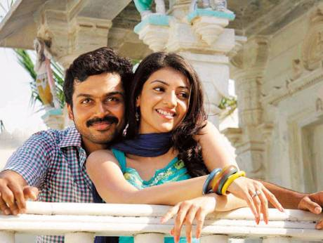 Karthi and Kajal