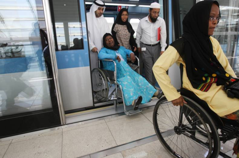 special-needs-passengers-on-dubai-metro