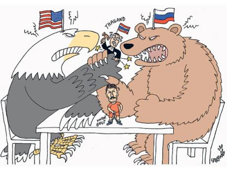Thailand cartoon