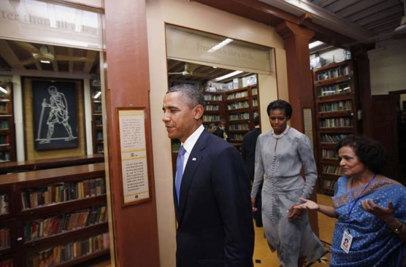barack-and-michelle-obama-in-india