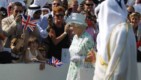 In pictures: UAE welcomes Queen Elizabeth II