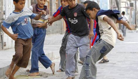 Football fever at Gulf Cup in Yemen