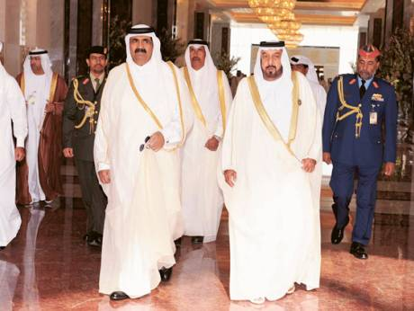 Shaikh Khalifa chairs the GCC Summit