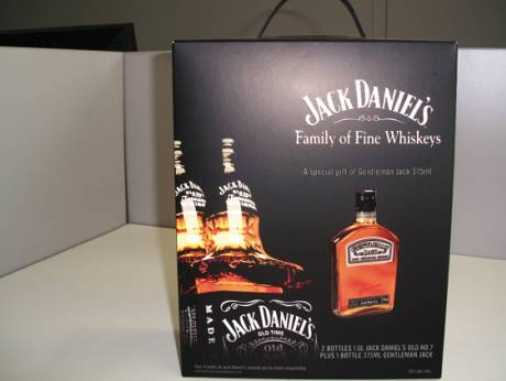 a global roll out for jack daniel s gentleman jack gift pack