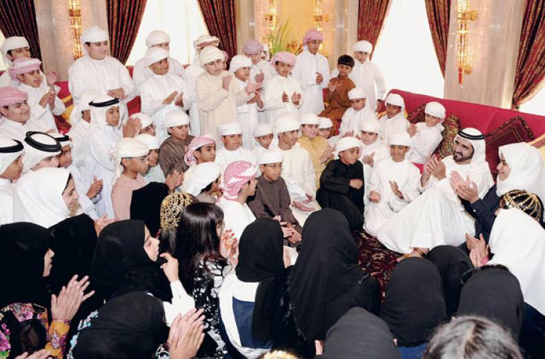 shaikh-mohammad-and-students