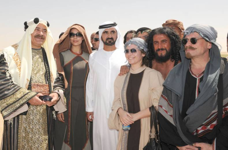 shaikh-mohammad-visits-the-filming-location