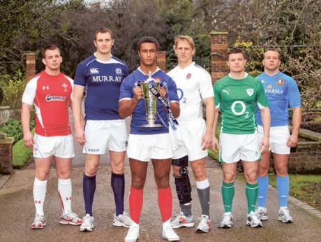Six Nations rugby captains
