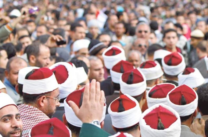 clerics-file-through-the-crowd-in-tahrir-square