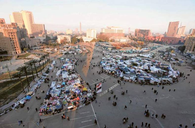general-view-of-tahrir-square-in-cairo-on-tuesday-morning-before-the-rallies-began