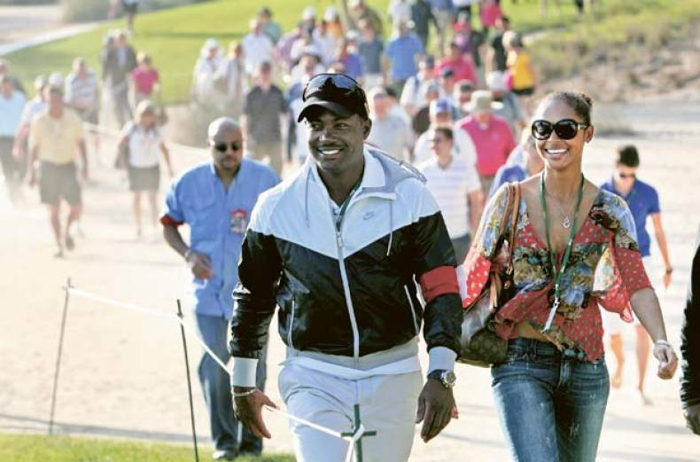 west-indies-cricket-legend-brian-lara-watching-golfers-in-action