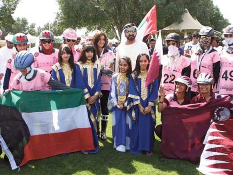 Shaikh Mohammad congratulates his daughter Shaikha Mahra