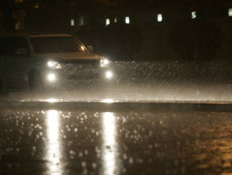 Heavy rain hit across the UAE