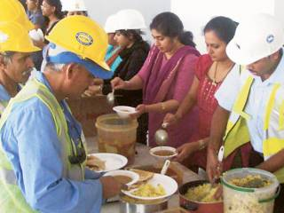 Curry for construction workers