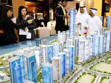 Reeem properties development models are exhibited