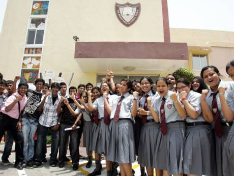 Students of Indian High School