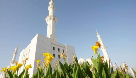 Shaikh Zayed Grand Mosque in pictures