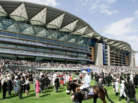A general view of the Royal Ascot racecourse
